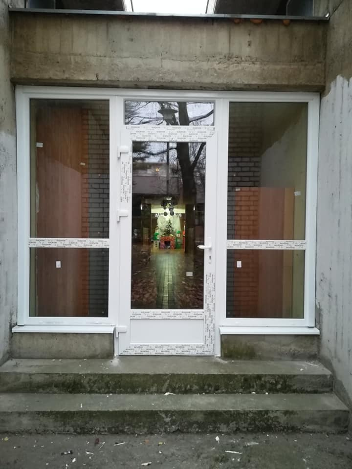 SCHUCO PVC ulazna vrata