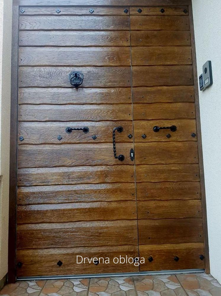 Ekskluziv Alu ulazna vrata 17