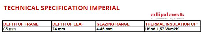 Aliplast Imperial
